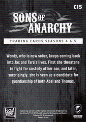 2015 Sons of Anarchy Seasons 4-5 Character Bios #C15 - The Ex | Eastridge Sports Cards