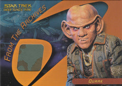 2006 Star Trek 40th Anniversary From the Archives Costumes #C16 - Quark | Eastridge Sports Cards