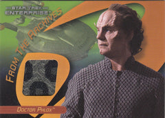 2006 Star Trek 40th Anniversary From the Archives Costumes #C19 - Doctor Phlox | Eastridge Sports Cards