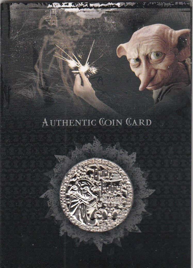 2006 Harry Potter and the Chamber of Secrets Authentic Coin Card #CC1 Dobby | Eastridge Sports Cards