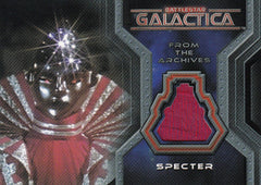 2006 Battlestar Galactica Colonial Warriors Costumes #CC5 - Spector | Eastridge Sports Cards