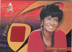 2001 Star Trek 35th Anniversary HoloFEX From the Archives Costumes #CC3 Lieutenant Uhura | Eastridge Sports Cards