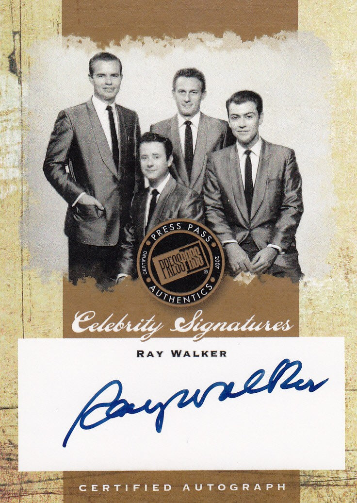 2007 Elvis The Music Celebrity Signatures #CS-RW - Ray Walker | Eastridge Sports Cards