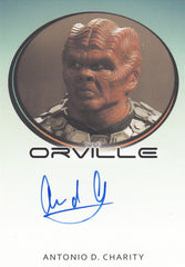 2019 The Orville Season One Bordered Autographs - Antonio D. Charity as Advocate Kagus LIMITED | Eastridge Sports Cards