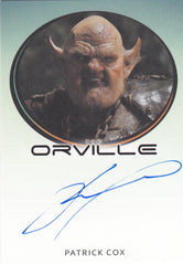 2019 The Orville Season One Bordered Autographs - Patrick Cox as The Ogre LIMITED | Eastridge Sports Cards