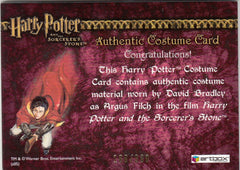 2005 Harry Potter and the Sorcerer's Stone Costumes #C3 David Bradley Pants #/360 | Eastridge Sports Cards