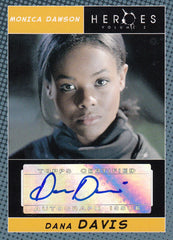 2008 Heroes Series Two Autographs - Dana Davis | Eastridge Sports Cards