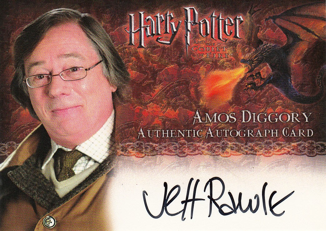 2005 Harry Potter and the Goblet of Fire Autographs - Jeff Rawle as Amos Diggory | Eastridge Sports Cards