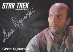 2016 Star Trek The Original Series 50th Anniversary Silver Autographs #NNO - Gene Dynarksi as Ben Childress | Eastridge Sports Cards