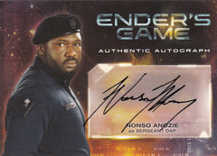 2014 Ender's Game Autographs #A9 - Nonso Anozie | Eastridge Sports Cards