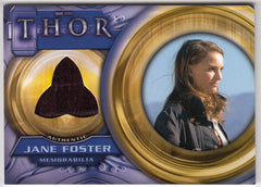 2011 Thor Movie Memorabilia #F2 Jane Foster | Eastridge Sports Cards