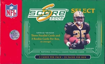 2006 Score Select Football Hobby Box | Eastridge Sports Cards