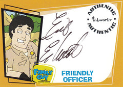 2005 Family Guy Season One Autographs #A3 - Erik Estrada as Officer Friendly | Eastridge Sports Cards