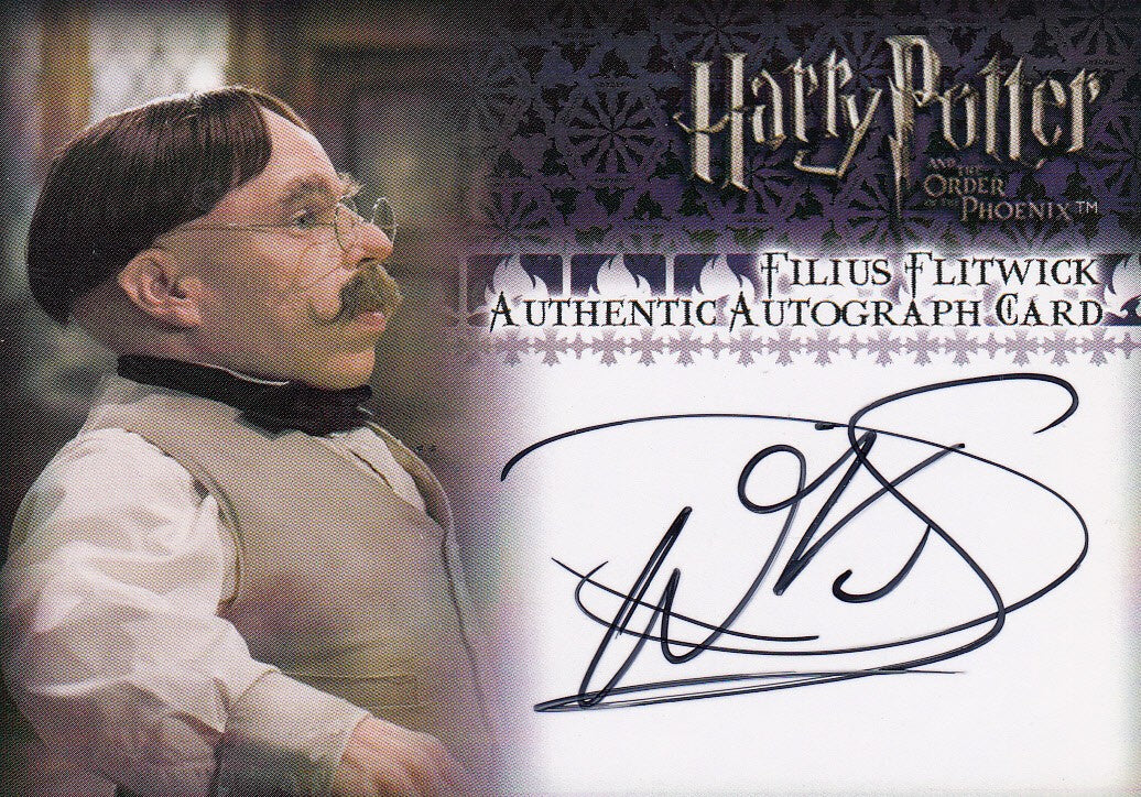 2007 Harry Potter and the Order of the Phoenix Autographs - Warwick Davis as Professor Flitwick | Eastridge Sports Cards