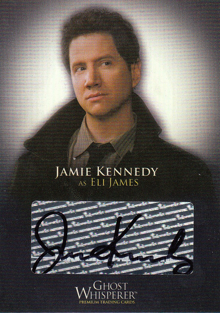 2009 Ghost Whisperer Seasons One and Two Autographs #GA-5 - Jamie Kennedy | Eastridge Sports Cards