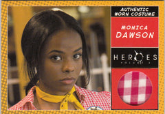 2008 Heroes Series Two Costumes #5 Monica Dawson - Uniform | Eastridge Sports Cards