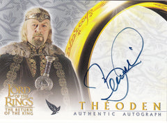 2003 Lord of the Rings Return of the King Autographs - Bernard Hill | Eastridge Sports Cards