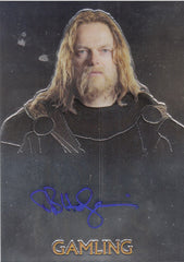 2004 Lord of the Rings Trilogy Chrome Autographs - Bruce Hopkins | Eastridge Sports Cards