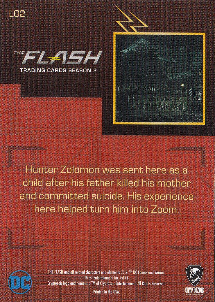 2017 The Flash Season 2 Locations #L02 - Central City Orphanage | Eastridge Sports Cards