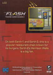 2017 The Flash Season 2 Locations #L03 - Big Belly Burger | Eastridge Sports Cards
