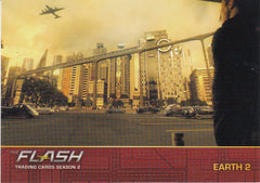 2017 The Flash Season 2 Locations #L04 - Earth 2 | Eastridge Sports Cards