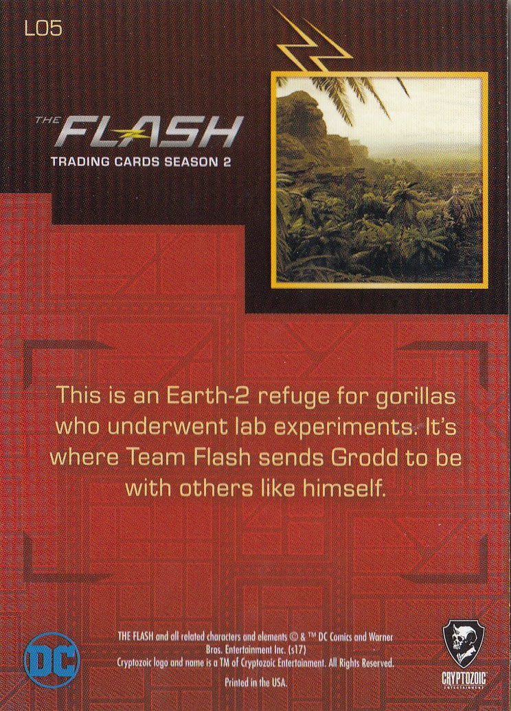 2017 The Flash Season 2 Locations #L05 - Gorilla Refuge | Eastridge Sports Cards