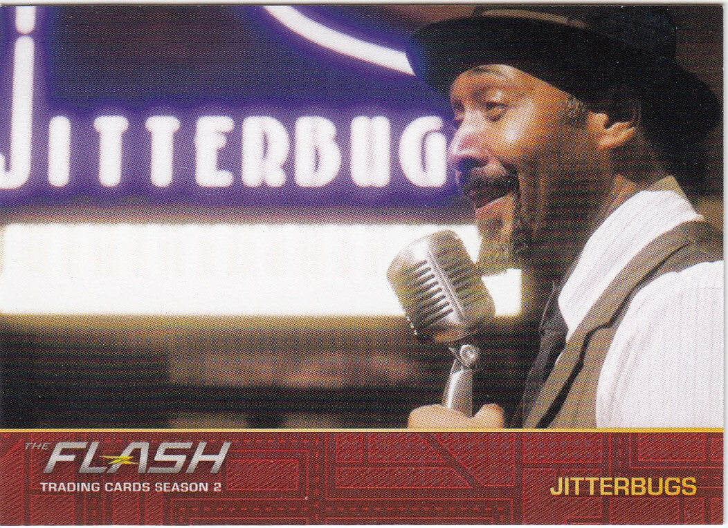 2017 The Flash Season 2 Locations #L07 - Jitterbugs | Eastridge Sports Cards