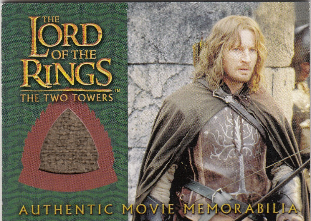 2003 Lord of the Rings Two Towers Update Memorabilia #NNO - Faramir's Ranger Outfit | Eastridge Sports Cards