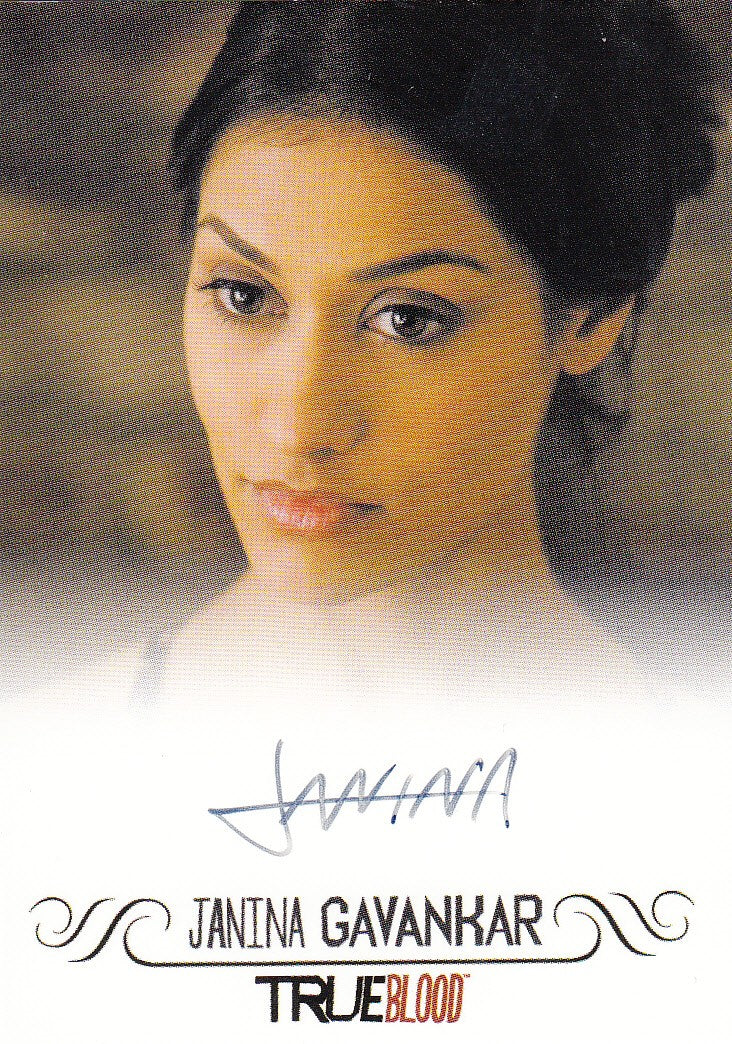 2013 True Blood Archives Autographs - Janina Gavankar EXTREMELY LIMITED | Eastridge Sports Cards