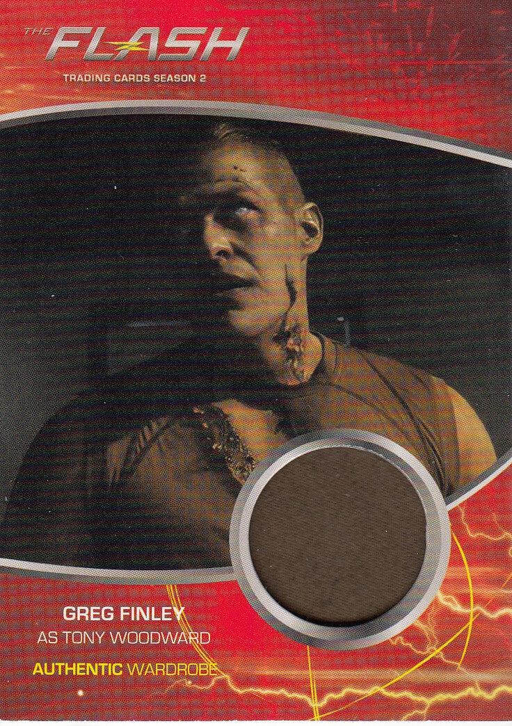 2017 The Flash Season 2 Wardrobes #M14 Greg Finley - Tony Woodward | Eastridge Sports Cards