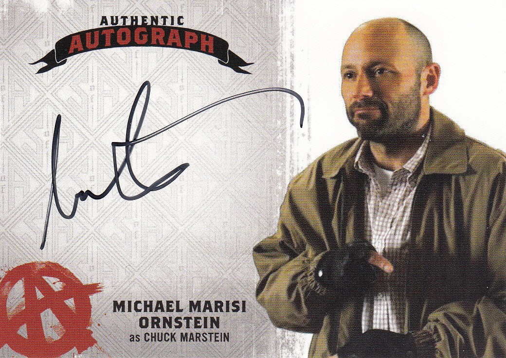 2015 Sons of Anarchy Seasons 4-5 Autographs #MO - Michael Ornstein as Chuck Marstein | Eastridge Sports Cards