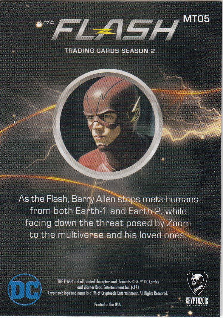 2017 The Flash Season 2 Metas #MT05 - The Flash | Eastridge Sports Cards