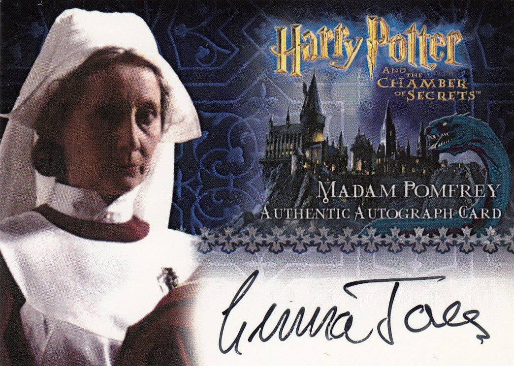 2006 Harry Potter and the Chamber of Secrets Autographs - Gemma Jones as Madam Pomfrey | Eastridge Sports Cards