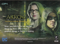 2017 Arrow Season Four Olicity #OF1 | Eastridge Sports Cards