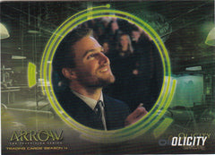 2017 Arrow Season Four Olicity #OF4 | Eastridge Sports Cards