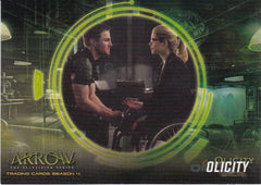 2017 Arrow Season Four Olicity #OF6 | Eastridge Sports Cards
