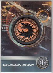 2014 Ender's Game Replica Patches #PC-01 Dragon Army Patch | Eastridge Sports Cards