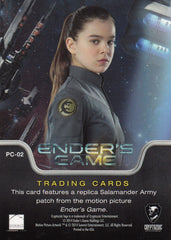 2014 Ender's Game Replica Patches #PC-02 Salamander Army Patch | Eastridge Sports Cards