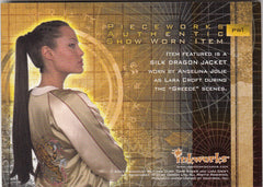 2003 Tomb Raider Cradle of Life Pieceworks #PW1 Angelina Jolie - Jacket | Eastridge Sports Cards