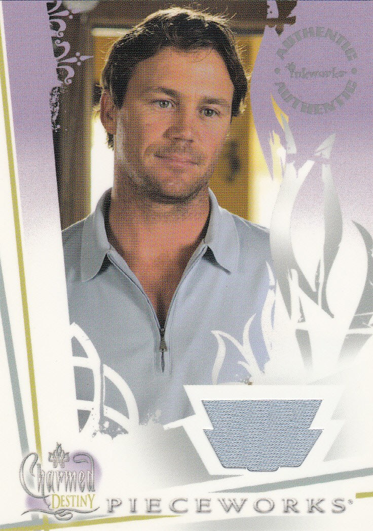2006 Charmed Destiny Pieceworks  Brian Krause #PW4 | Eastridge Sports Cards