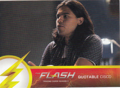 2017 The Flash Season 2 Quotable Cisco #Q02 | Eastridge Sports Cards