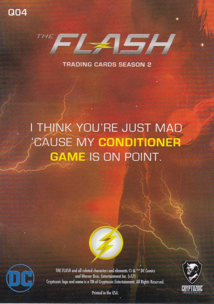 2017 The Flash Season 2 Quotable Cisco #Q04 | Eastridge Sports Cards
