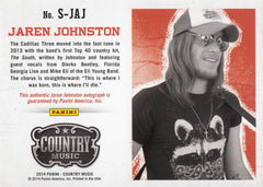 2015 Country Music Signatures Red #S-JAJ - Jaren Johnston #/149 | Eastridge Sports Cards