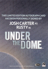 2014 Under the Dome Season One Autographs - Josh Carter as Rusty | Eastridge Sports Cards