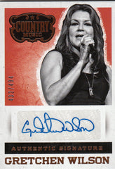 2015 Country Music Signatures #S-GW - Gretchen Wilson #/494 | Eastridge Sports Cards