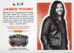 2015 Country Music Signatures #S-JY -  James Young #/324 | Eastridge Sports Cards