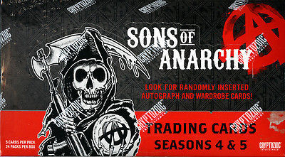 2015 Topps Cryptozoic Sons of Anarchy Seasons 4 & 5 Hobby Box | Eastridge Sports Cards