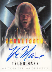 2000 X-Men Movie Autographs - Tyler Mane as Sabretooth | Eastridge Sports Cards
