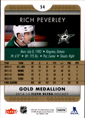 2014-15 Fleer Ultra Gold Medallion #054 Rich Peverley | Eastridge Sports Cards
