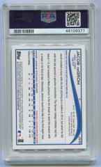 2014 Topps Update #US50 Jacob DeGrom Throwing PSA 9 (Rookie) | Eastridge Sports Cards